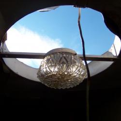 une vue du toit!